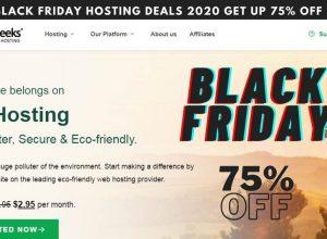 GreenGeeks Black Friday Hosting Deals