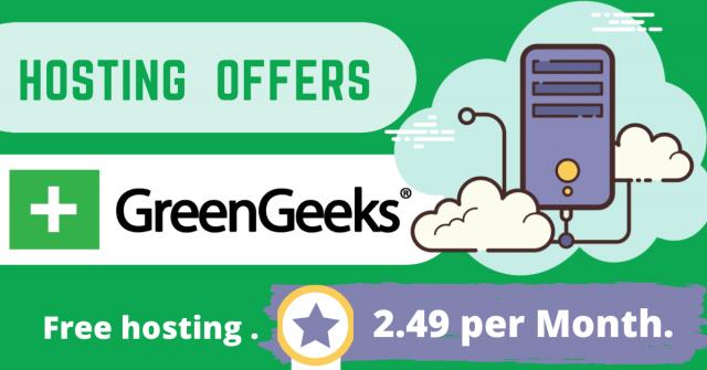 GreenGeeks Hosting offers