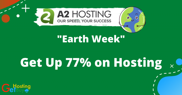 77% off on A2 Hosting